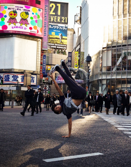 Shibuya Crossing – Tokyo, Japan (Nov 2013). Shot by: Nina Chua