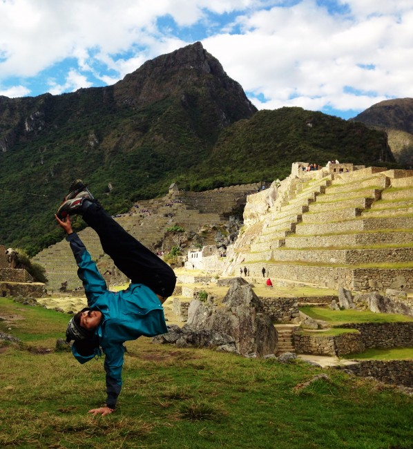 Machu Picchu – Peru (Jul 2014). Shot by: Random stranger