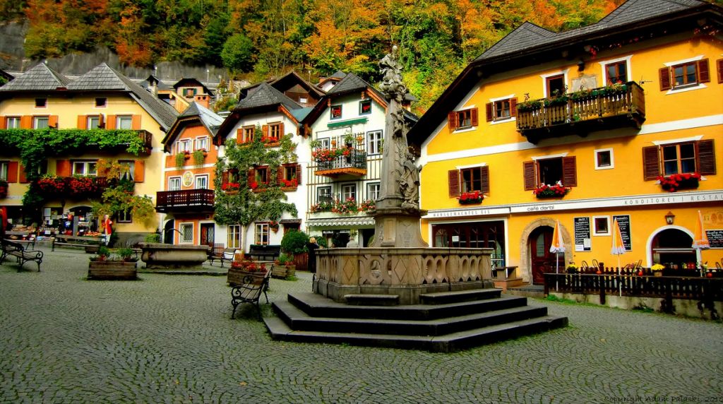 Hallstatt_City Centre
