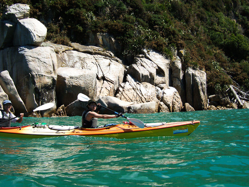 New Zealand_Abel Tasman Kayaking 2