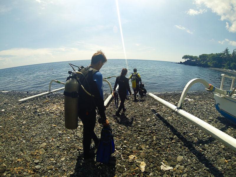 Shore Entry