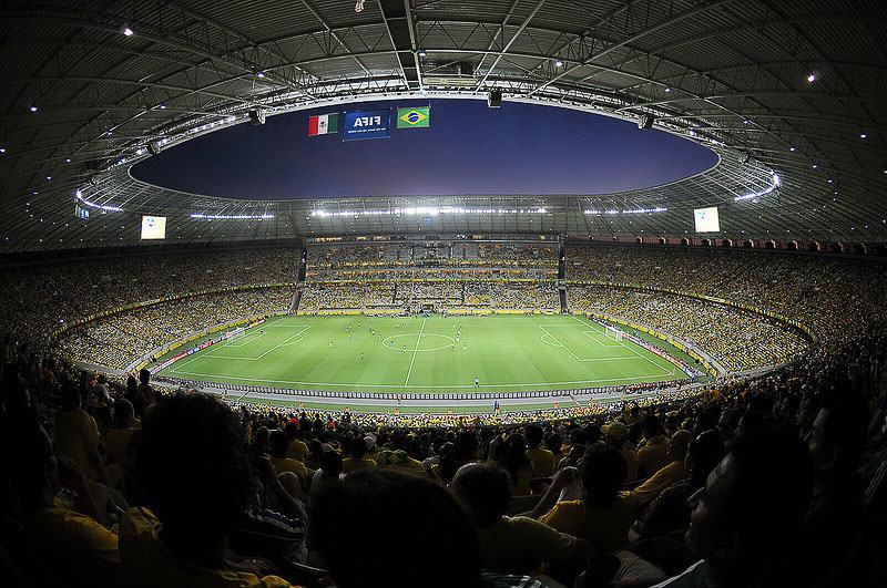 brazil football stadium