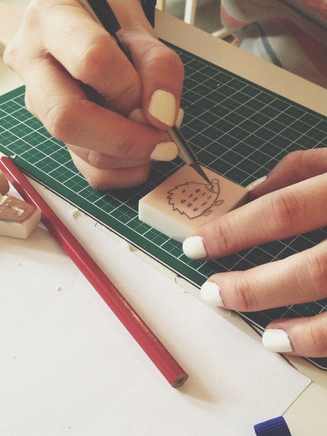 Stamp Carving 3