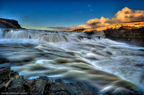 gullfoss waterfall_michael