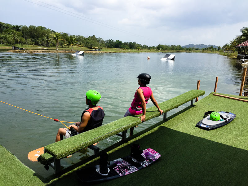 Cable Skiing in Batam_7