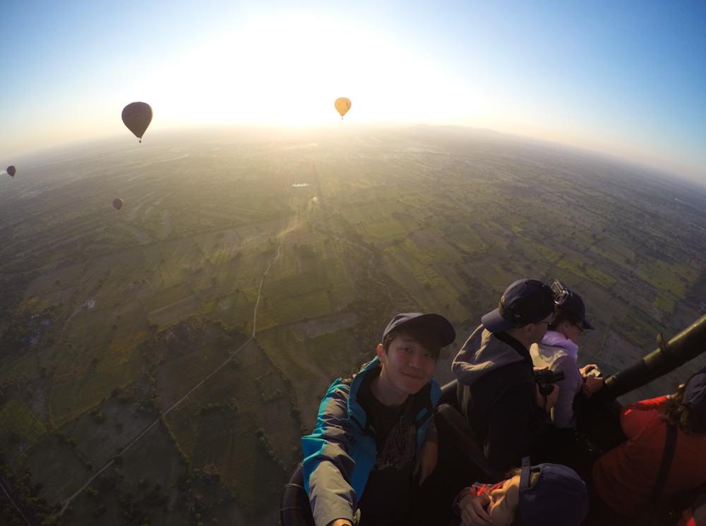 Balloons over Bagan 1 self