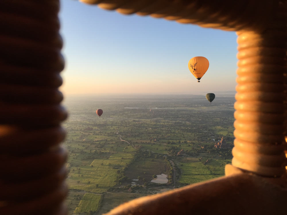 Balloons over Bagan 11