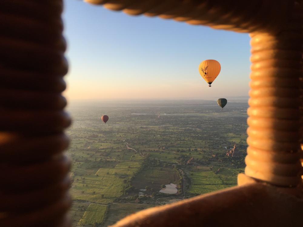 Balloons over Bagan 11