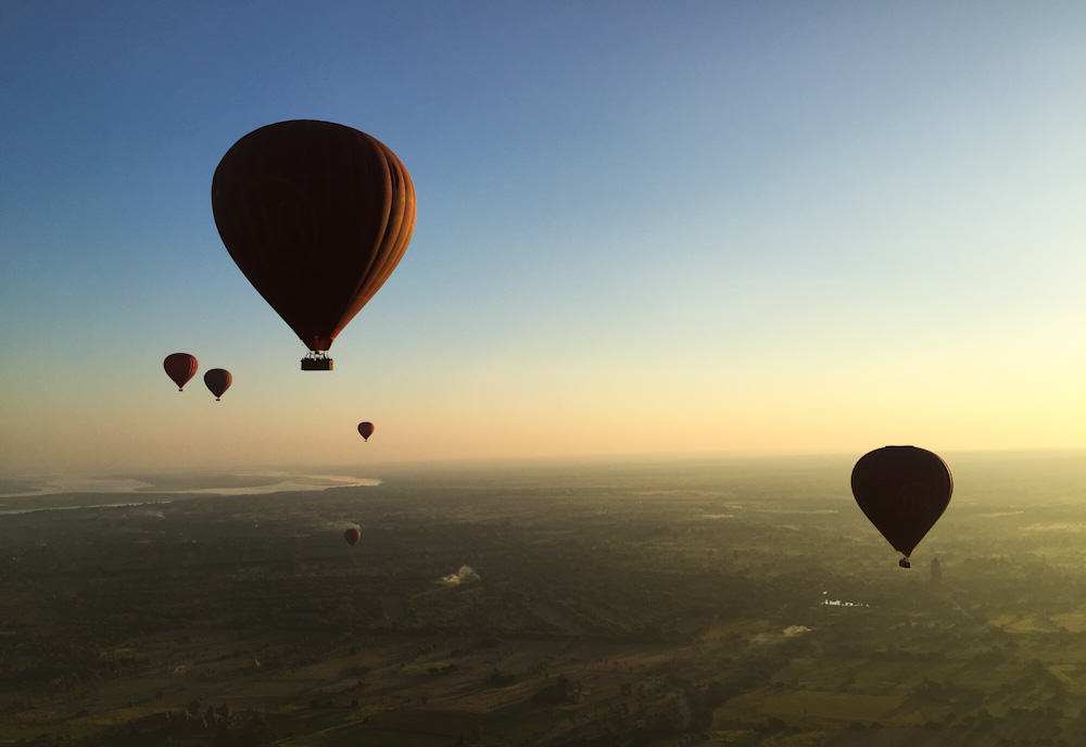 Balloons over Bagan 12