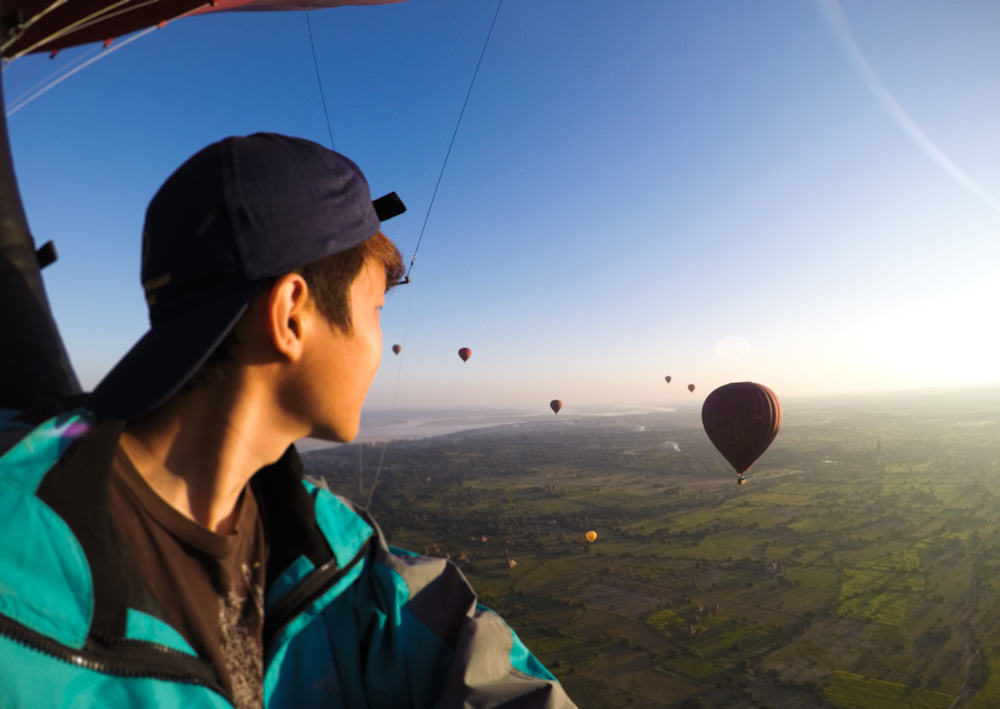 Balloons over Bagan 2 self