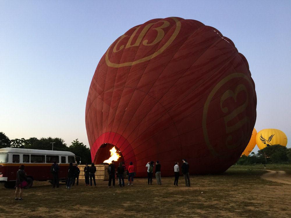 Balloons over Bagan 2