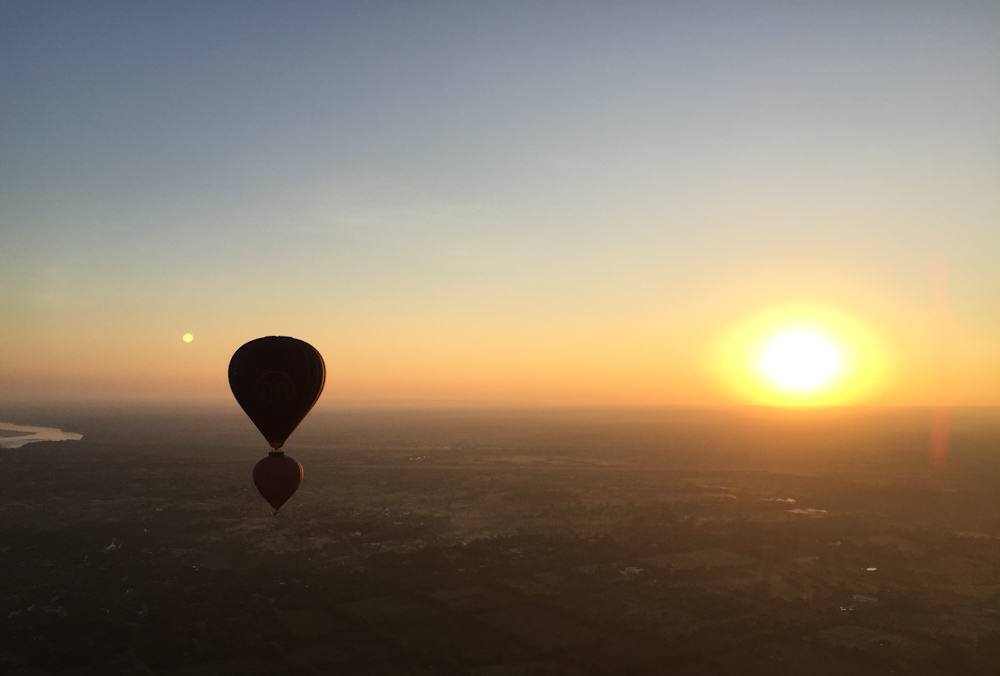 Balloons over Bagan 8