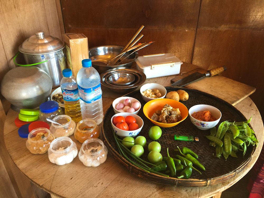 Inle Lake Cooking 1