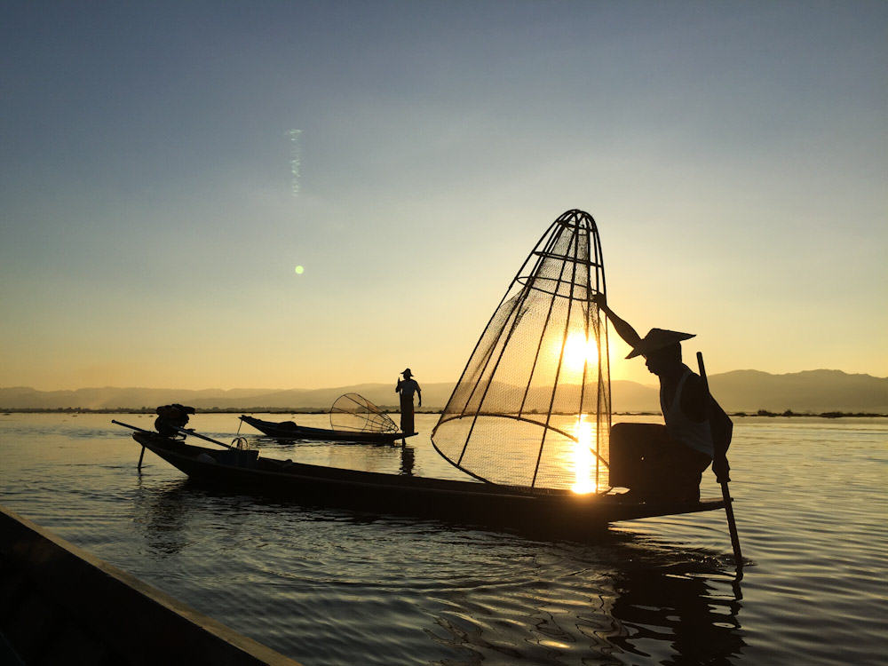 Inle Lake Fisherman 3