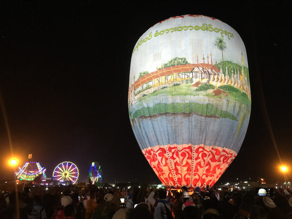 Taunggyi Fire Balloon 1