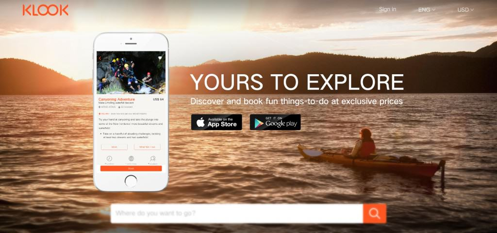 Klook-Activities-Booking-Mobile-App