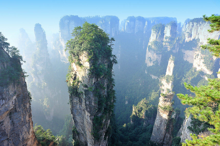 Zhangjiajie-National-Forest-Park-China-2