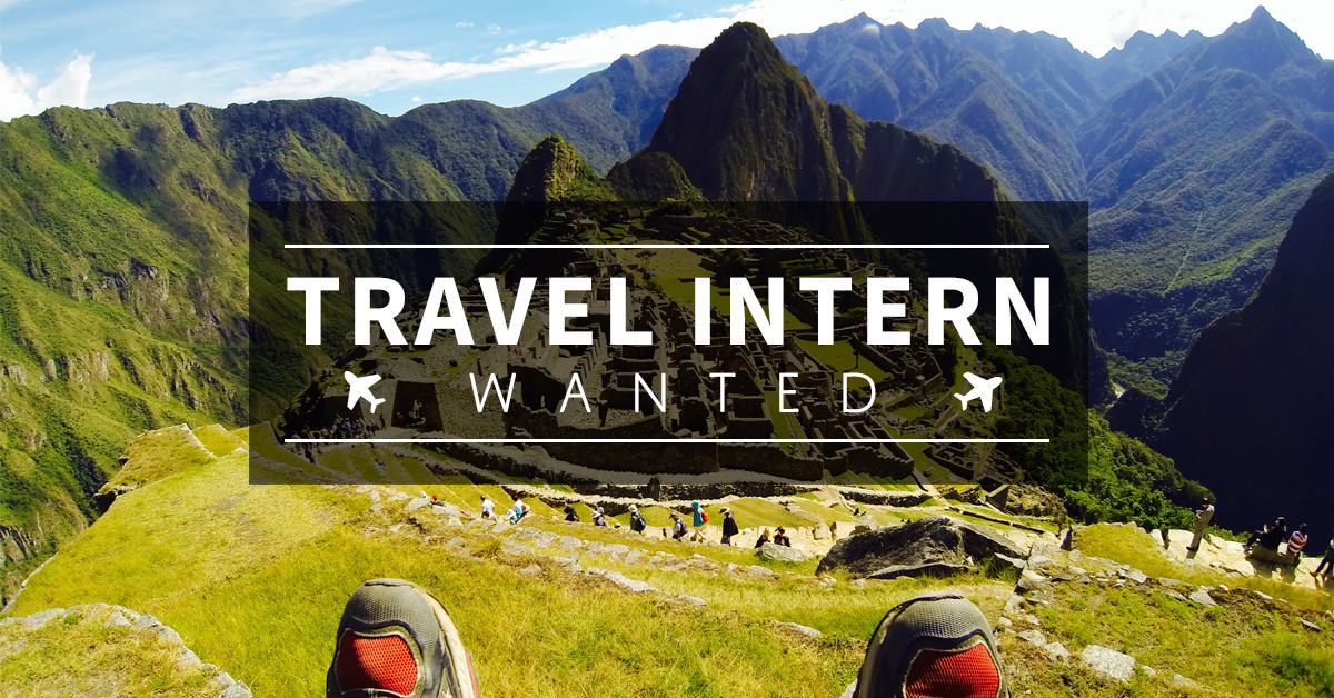 Travel Intern FB Link Post-Machu