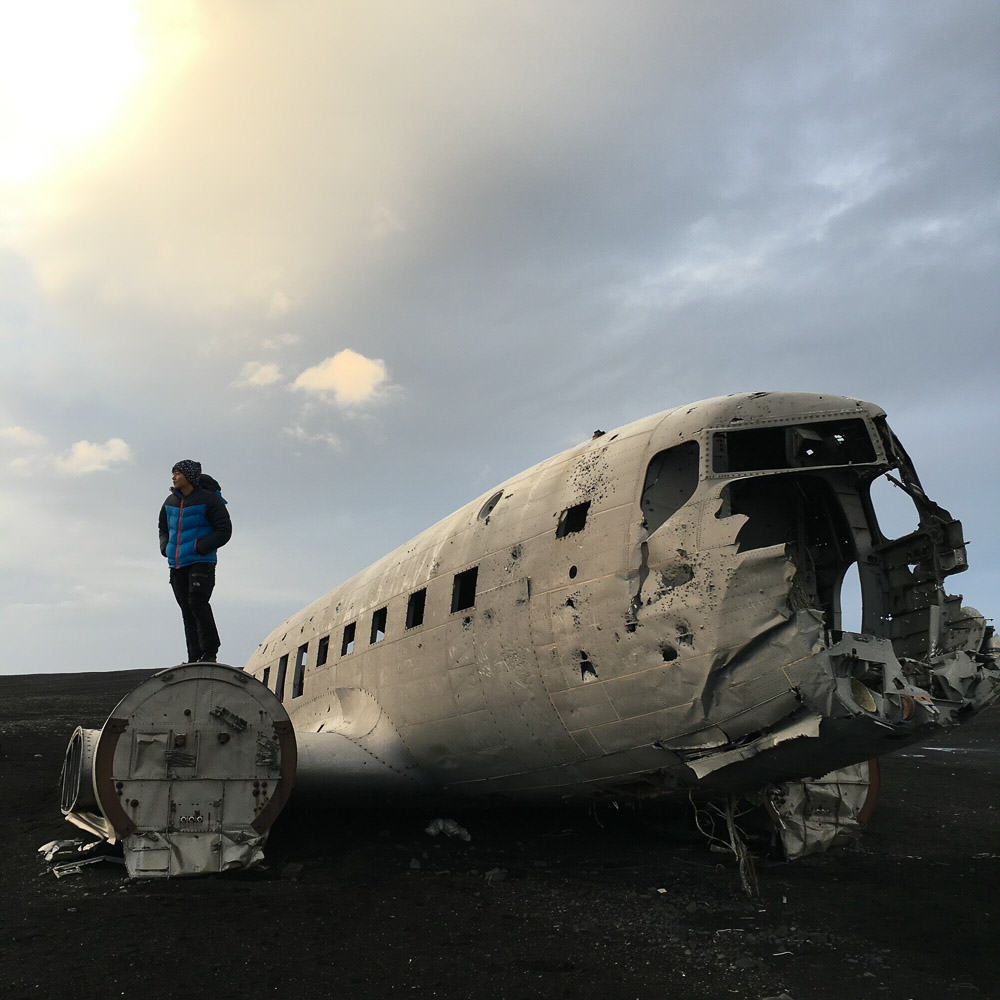 Iceland Winter-15-Abandoned PLane