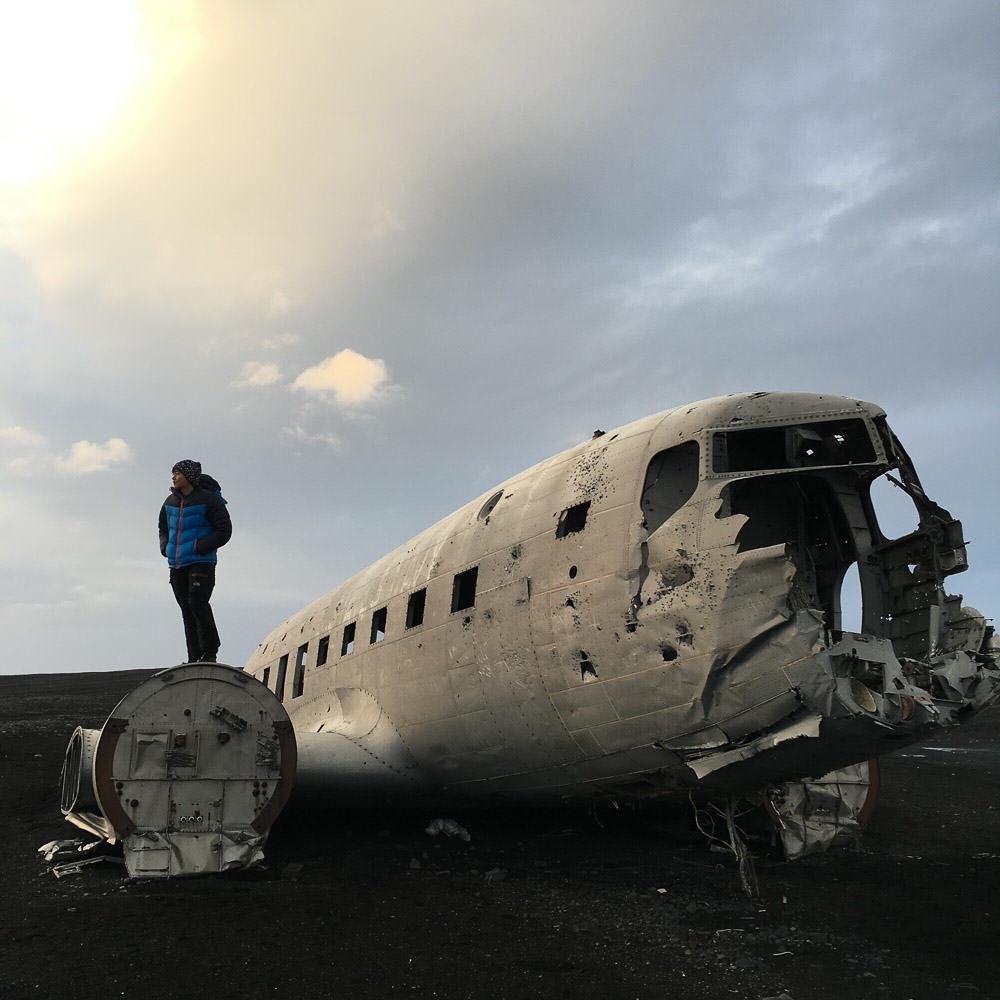 Iceland Winter-15-Abandoned PLane