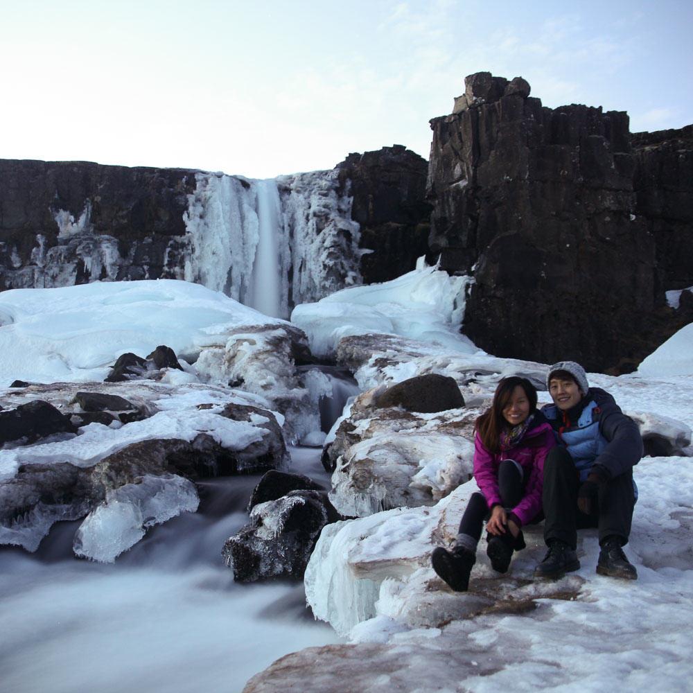Iceland Winter-30-Öxarárfoss