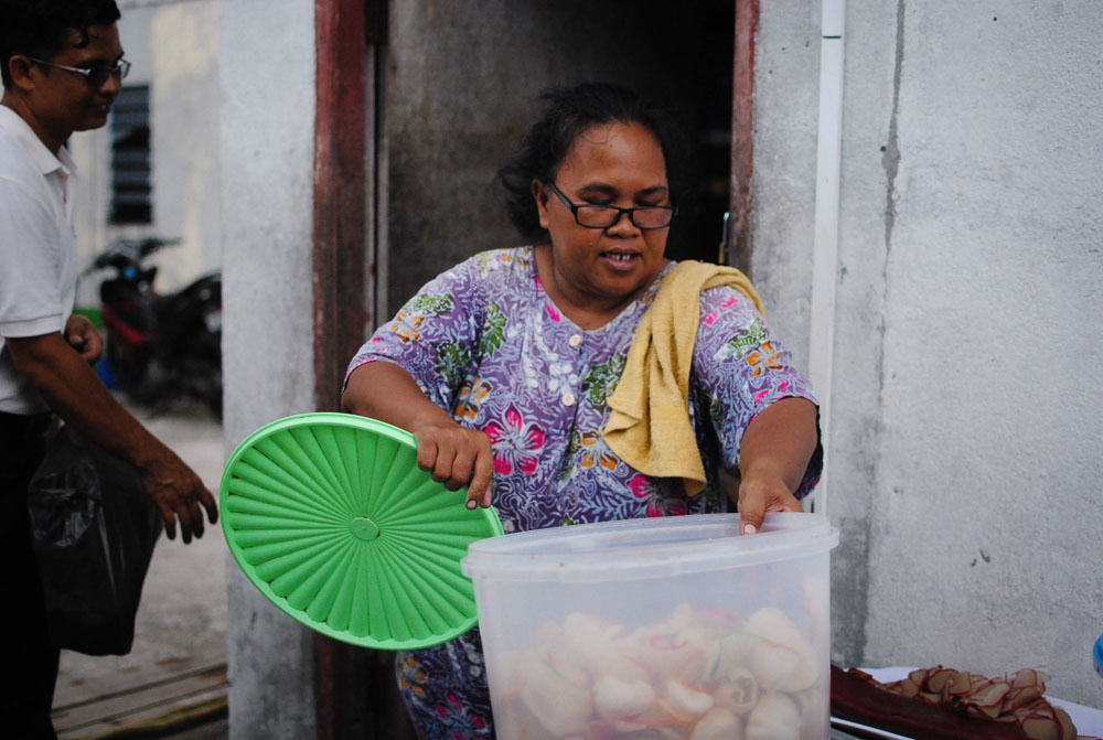 Bintan - Keropok aunty