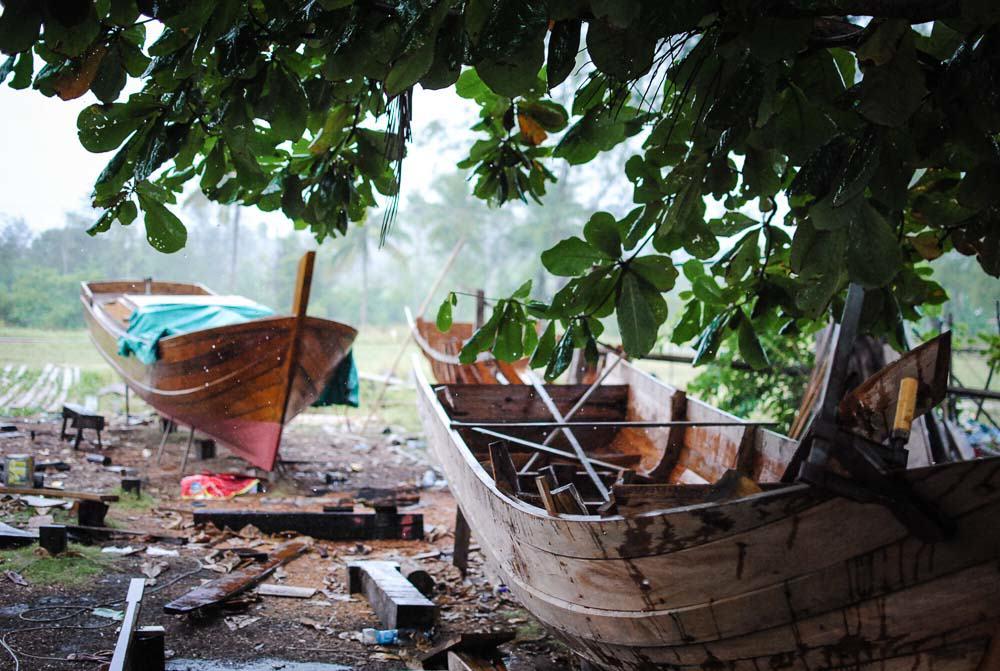 Bintan - boat making