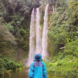 South Sumatra-Embun Waterfall Pagaralam