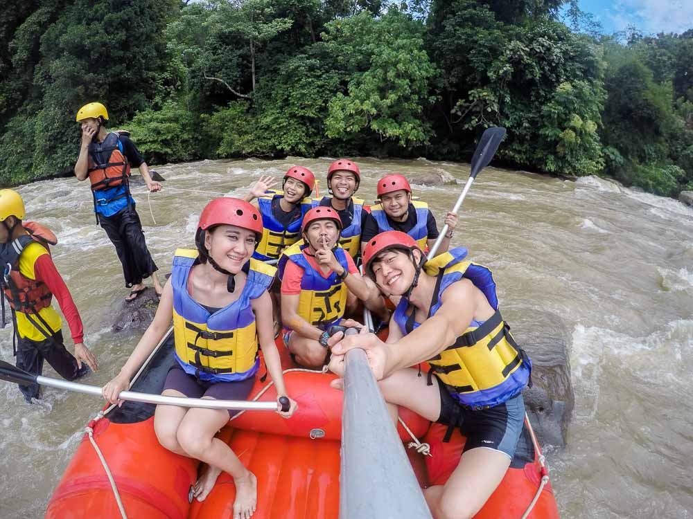 South Sumatra - White Water Rafting Sungei Enim