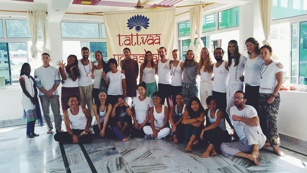 Yoga Teacher Training in Rishikesh India Class