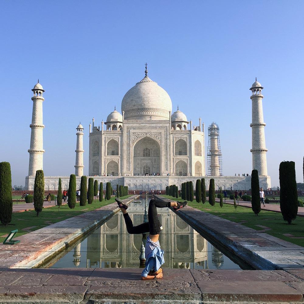 Taj Mahal Yoga
