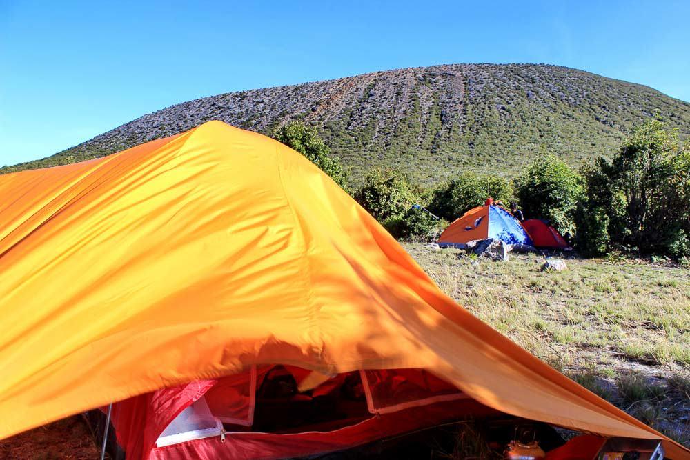 Pagar Alam - South Sumatra- Mount Dempo Camping