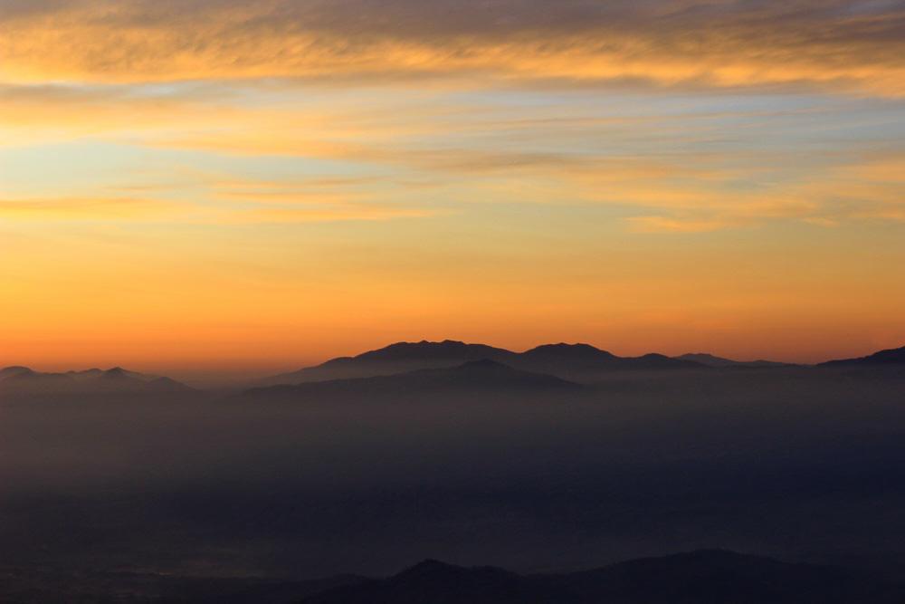 Pagar Alam - South Sumatra- Mount Dempo Sunrise