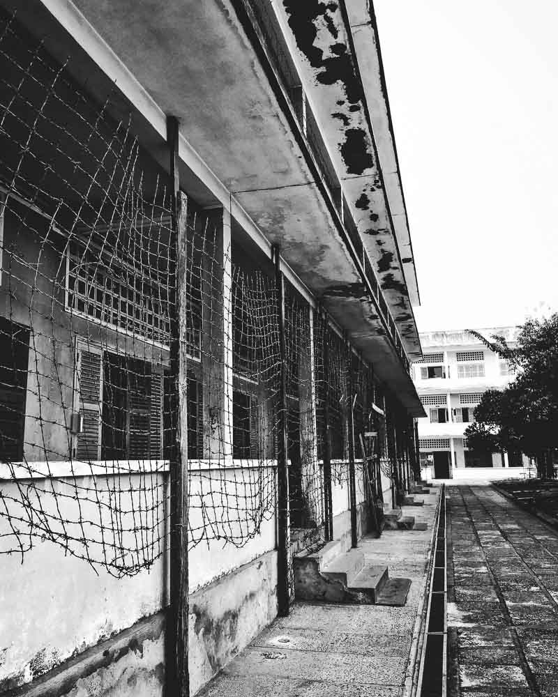 S21 Prison in Phnom Pehn - Cambodia on a budget