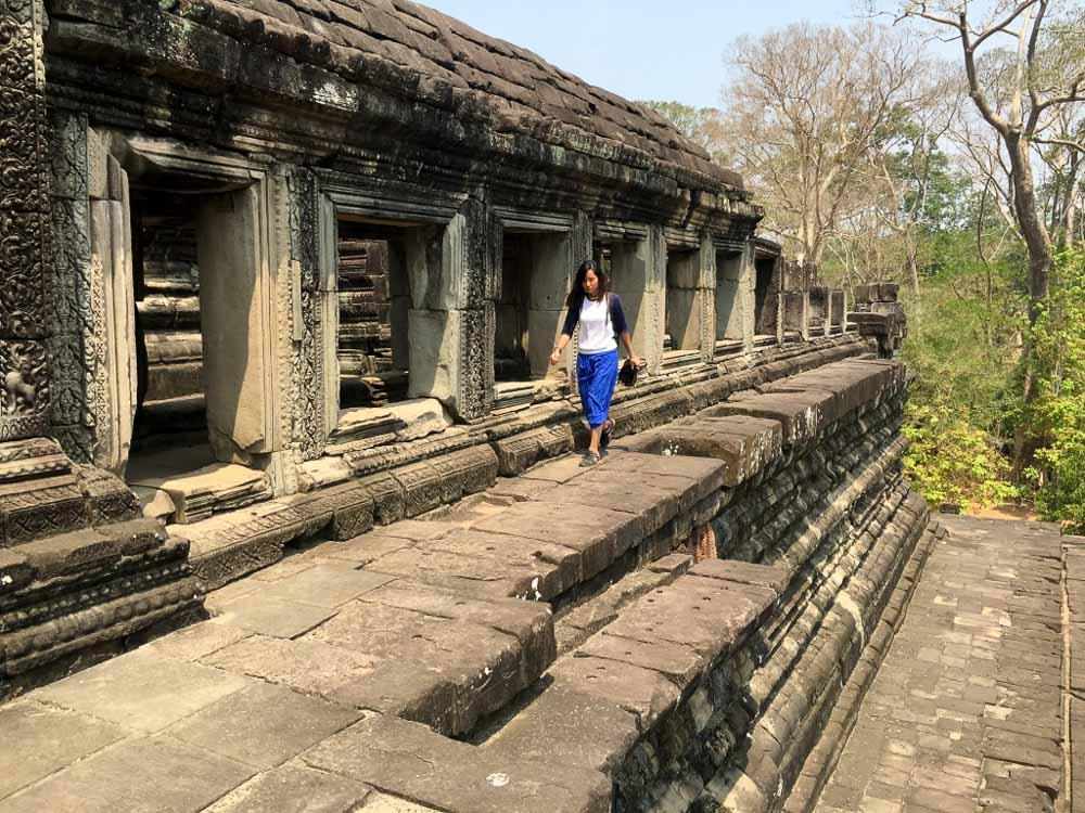 Exploring Angkor Temples