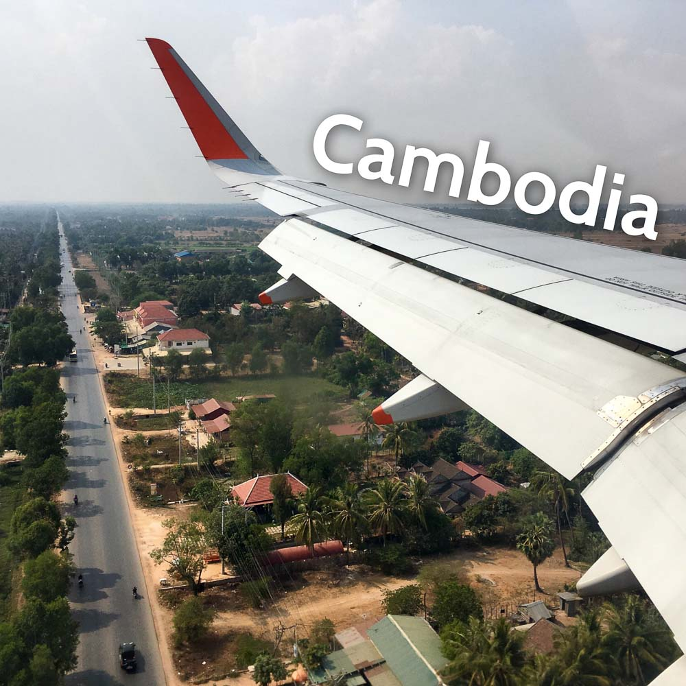 Landing in Siam Reap - Cambodia on a budget