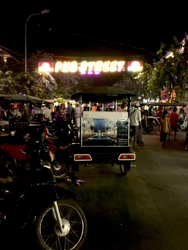 Pub Street - Cambodia on a budget