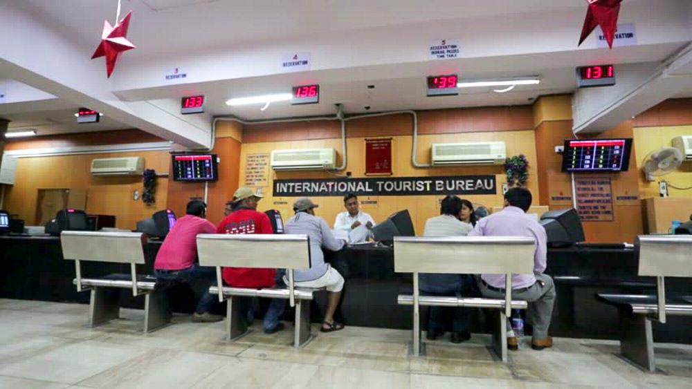 Delhi Railway Internation Tourist Bureau