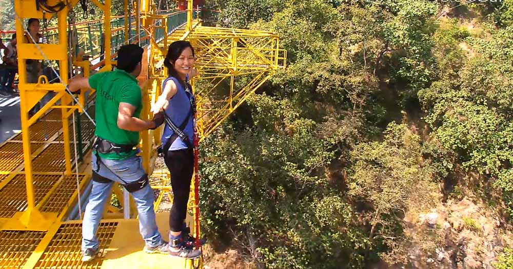 Bungee Jump - Jumpin Heights Rishikesh