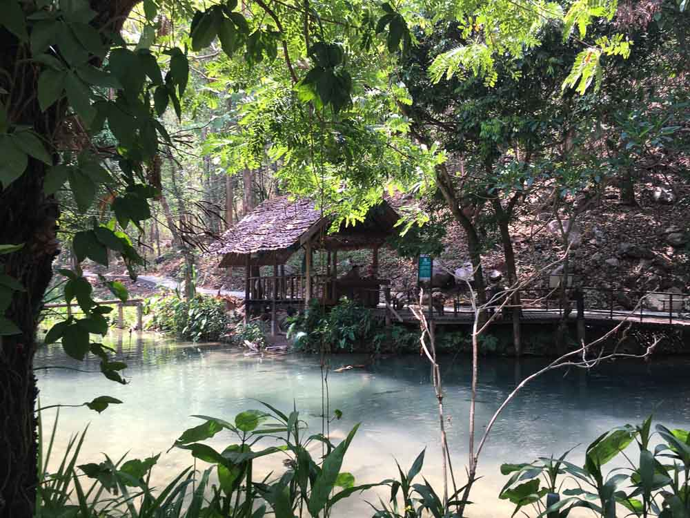 Tham Pla Fish cave in Mae Hong Son