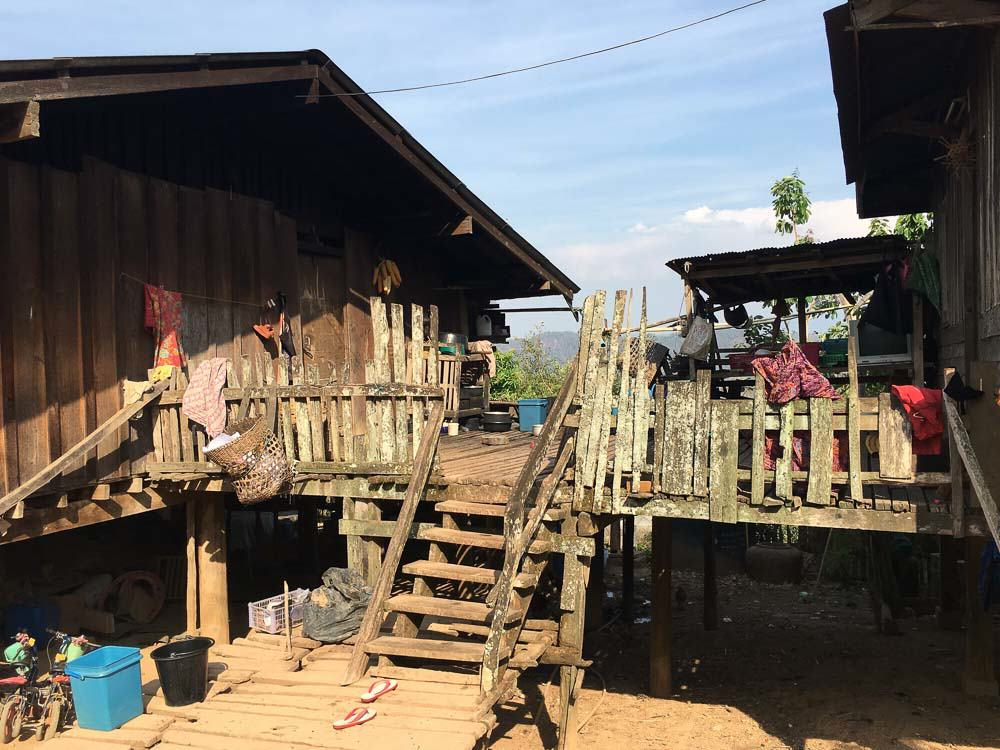 Hilltribe Village in Mae Hong Son