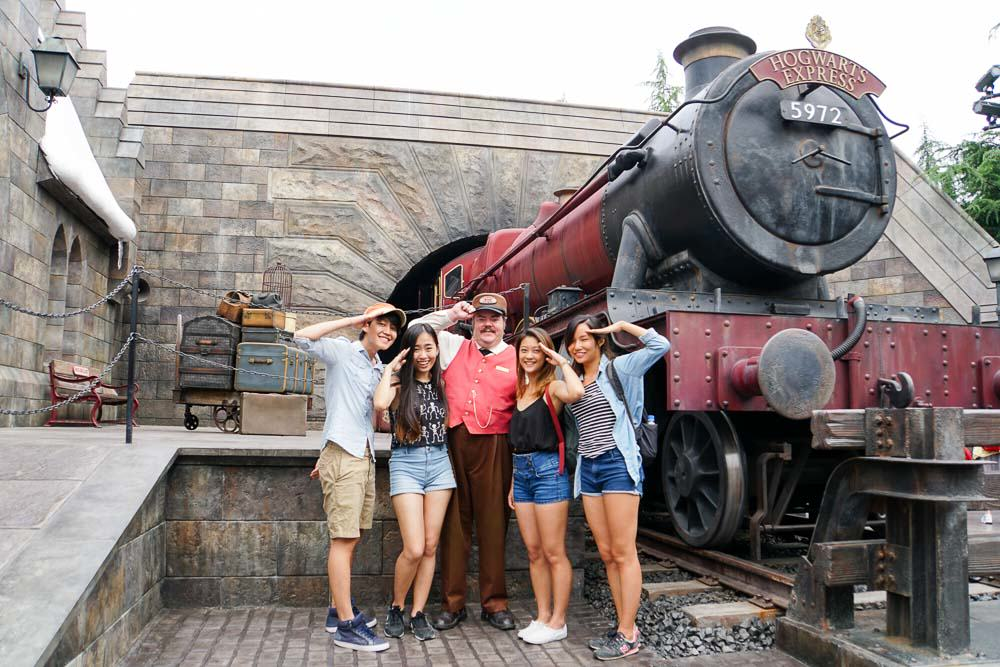Hogwarts Express Group - Time at Universal Studios Japan-13