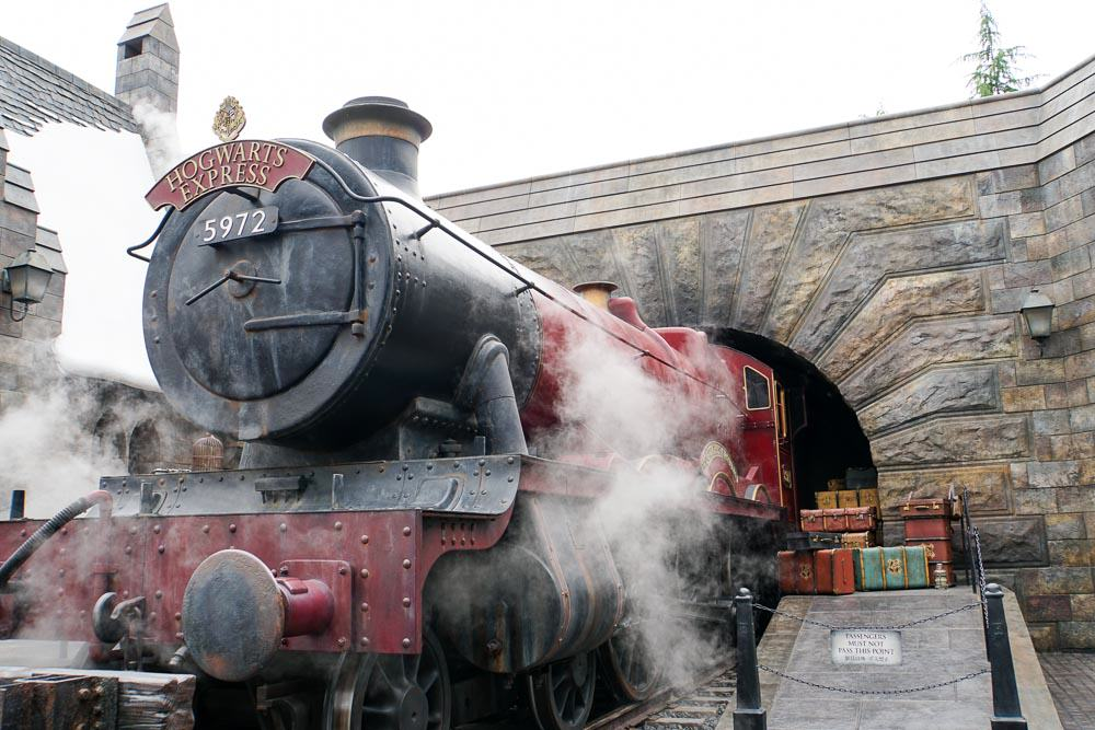 Hogwarts Express - Time at Universal Studios Japan-12