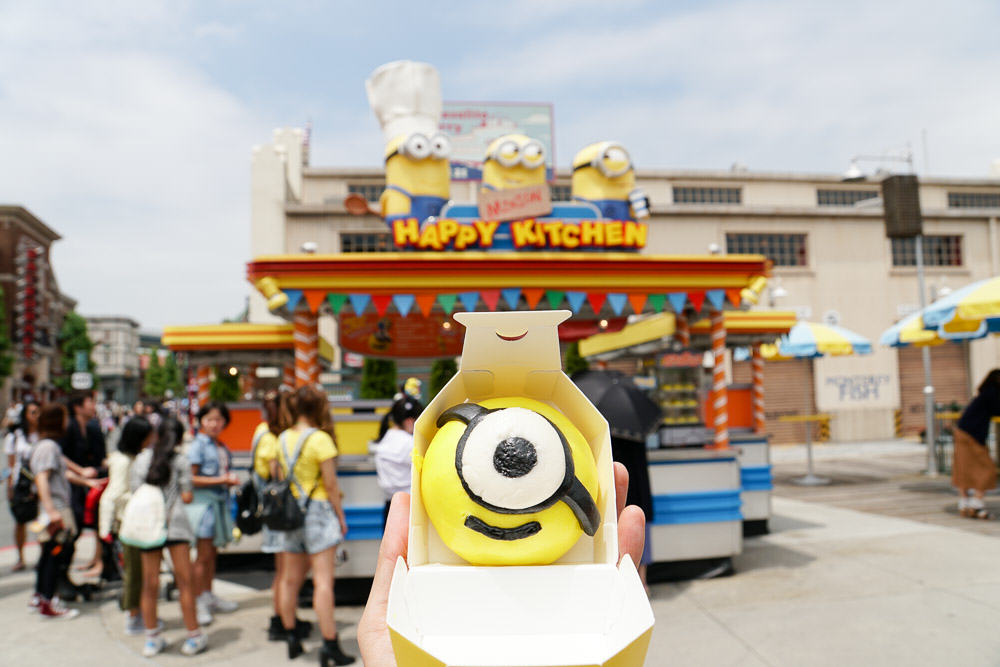 Minion Bun - Time at Universal Studios Japan-5