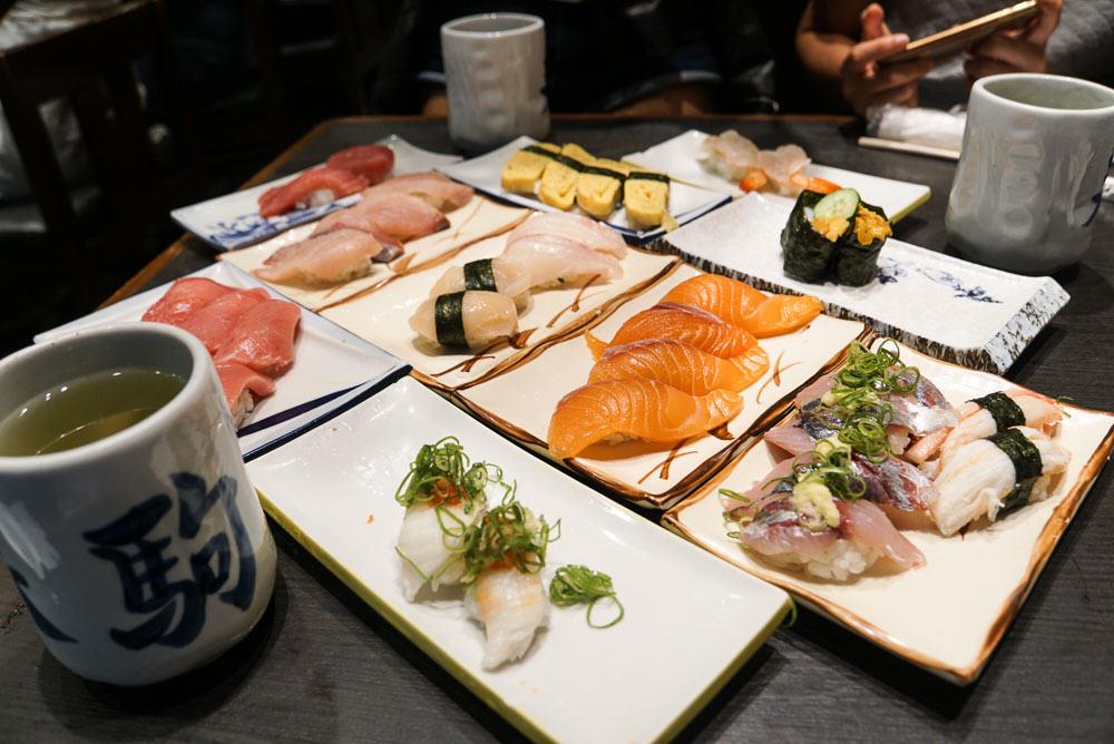 Harukoma Sushi -Osaka-Budget-Guide