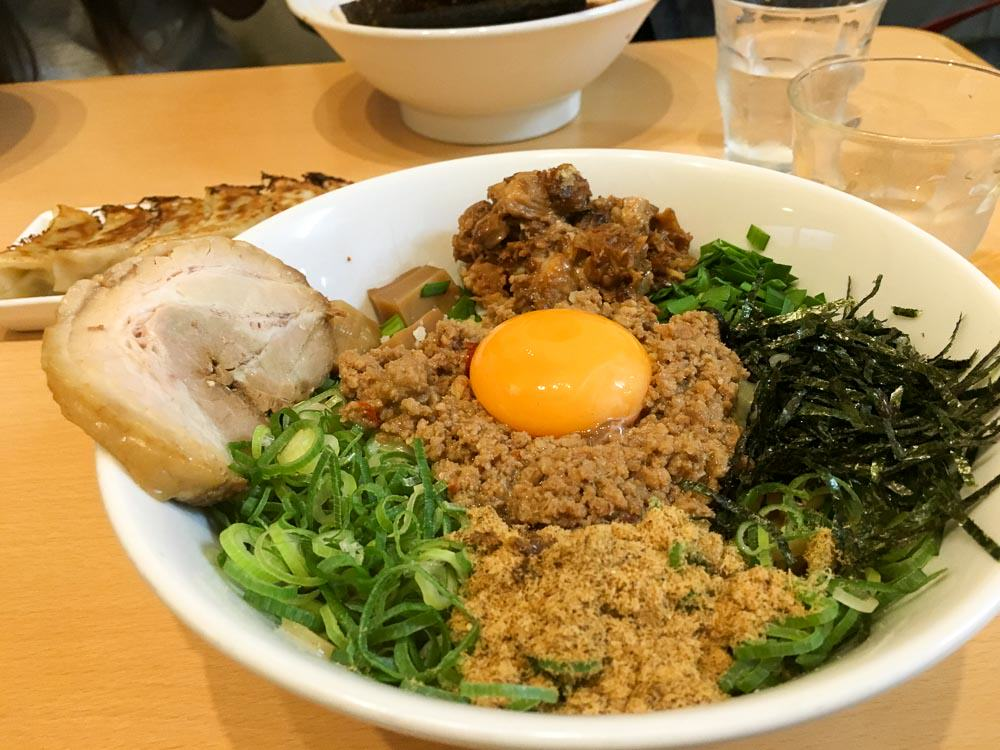 Menya Gaten Ramen Dotonburi -Osaka-Budget-Guide