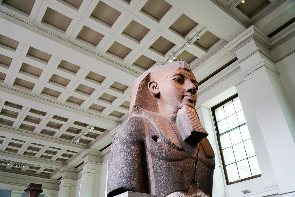 British Museum Sphinx -London Budget Guide