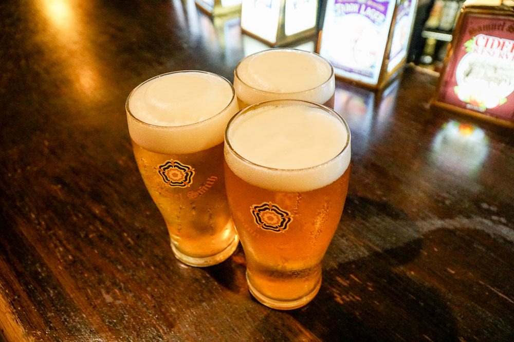 Cittie of Yorke Beer - London Budget Guide