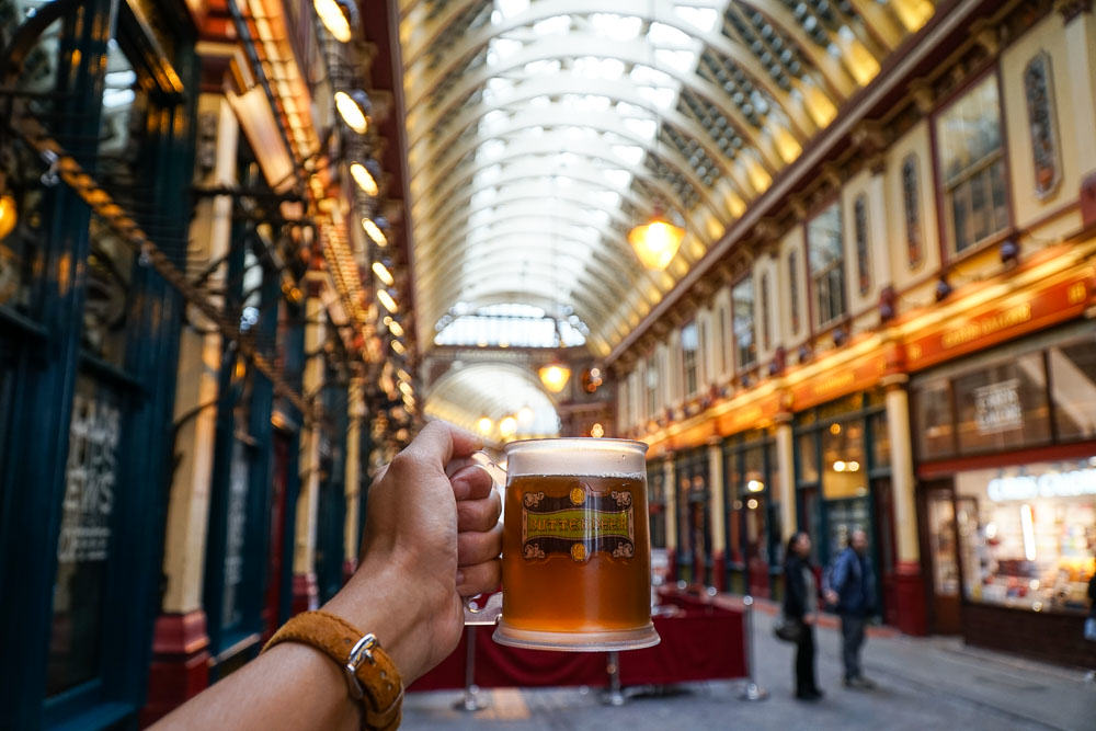 Leadenhall Market - Harry Potter London Film Locations