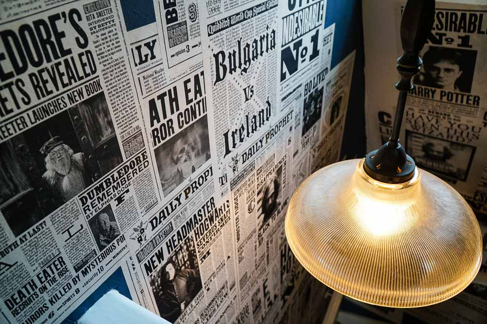 Newspaper Props - Harry Potter London Film Locations